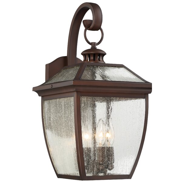 Auer 4-Light Outdoor Wall Lantern by Darby Home Co