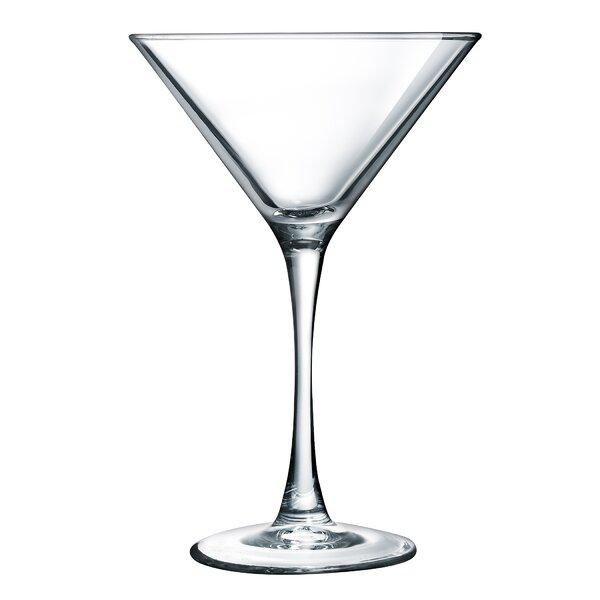 Molena 7.5 oz. Martini Glass (Set of 4) by Mint Pantry