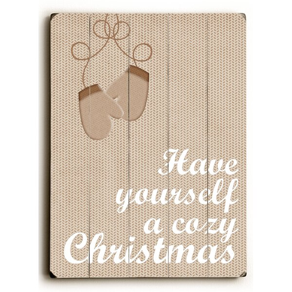 Have Yourself a Cozy Christmas Wall Décor by The Holiday Aisle