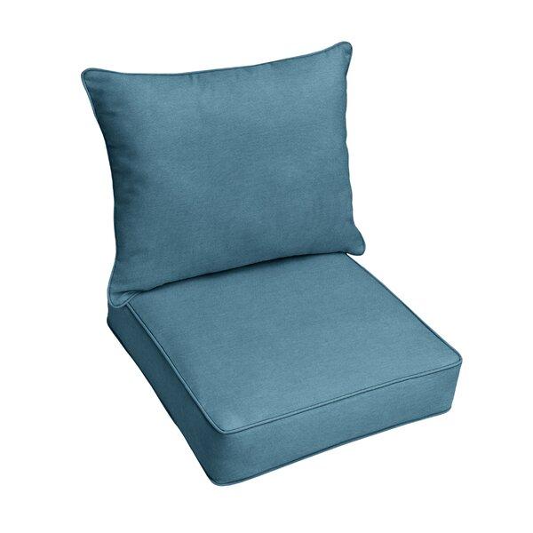 Indoor/Outdoor Sunbrella Seat/Back Cushion (Set of 2)