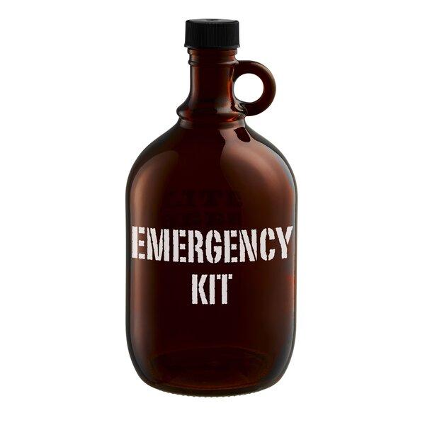 Crofton Emergency Kit Beer Growler by Ebern Designs