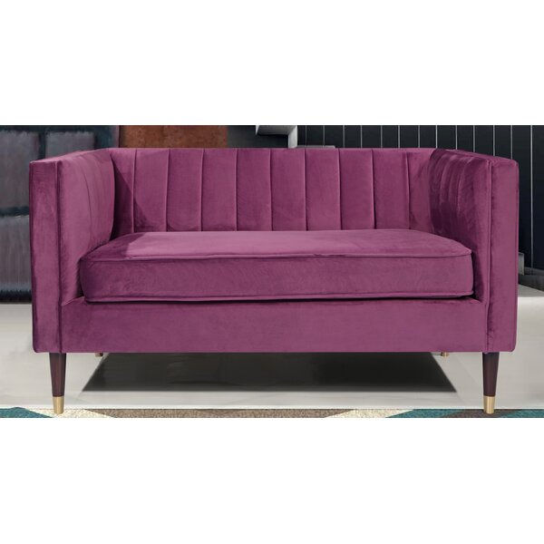 Scrivner Loveseat By Everly Quinn