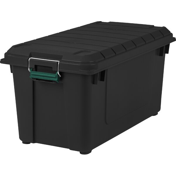 87.2 qt Weathertight Plastic Storage Tote by Remington
