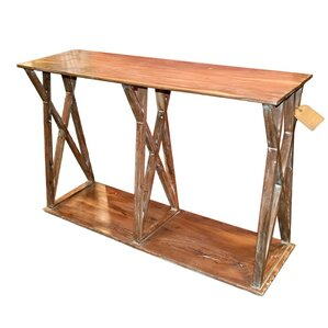 Loon Peak Tolbert Wooden Console Table