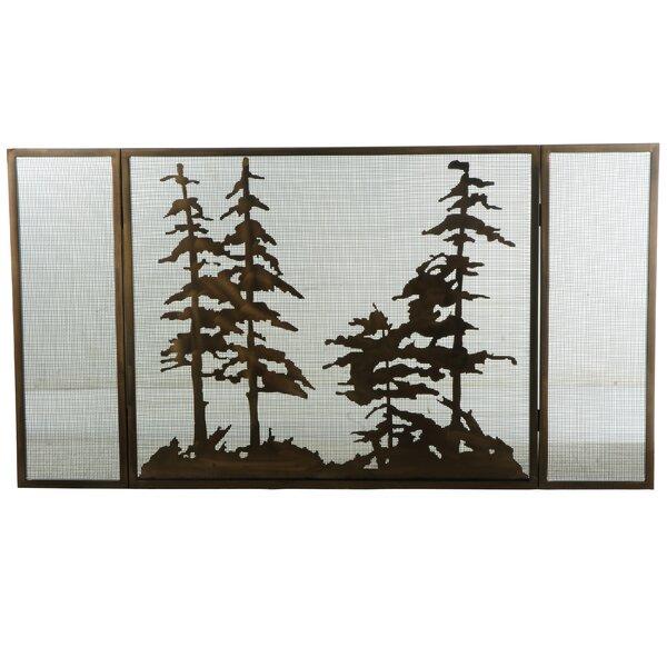Buy Cheap Tall 3 Panel Fireplace Screen