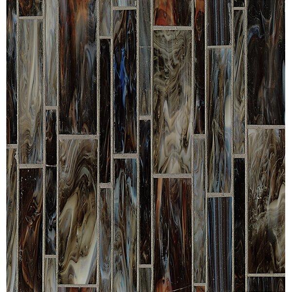 Kailua Random Sized Glass Mosaic Tile in Surf by Grayson Martin