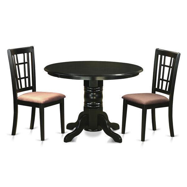Sherlock 3 Piece Dining Set by August Grove August Grove