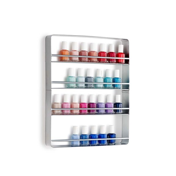 Cooper Nail Polish Wall Shelf by Design Ideas
