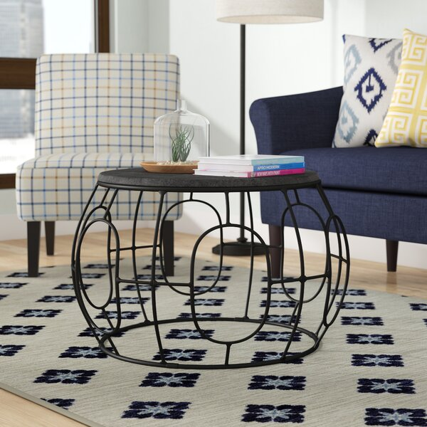 Legaspi Iron Coffee Table By Brayden Studio