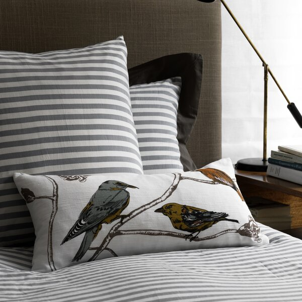 Chinoiserie Long Linen Pillow Cover by DwellStudio