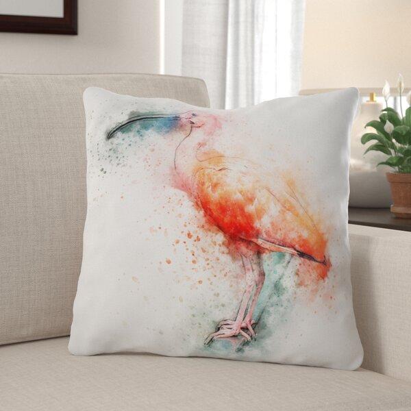 Edmundson Ibis Throw Pillow