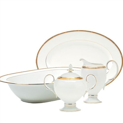 Rochelle Gold 5 Piece Completer Set by Noritake