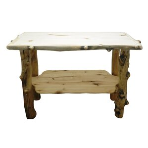 Aspen Grizzly Console Table by Mountain Woods Furniture