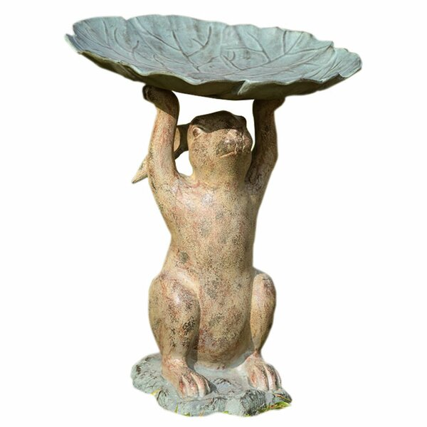 Rabbit Birdbath by SPI Home