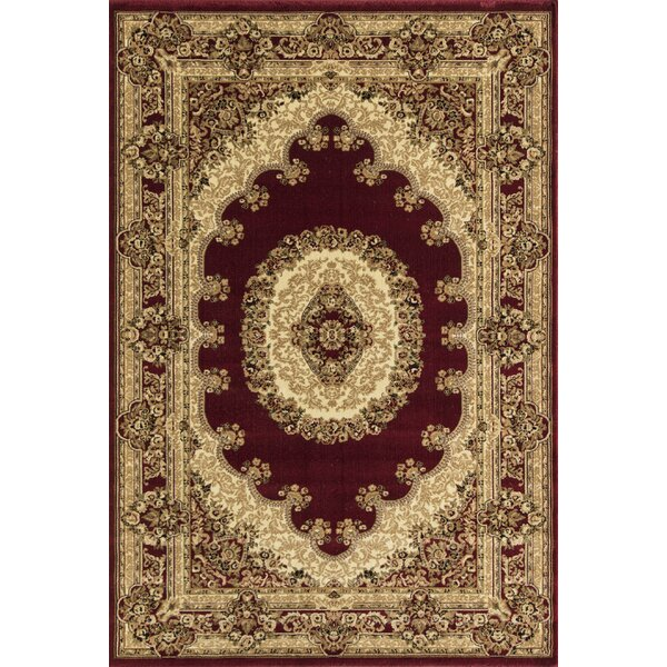 Gloucester Red Area Rug by Threadbind