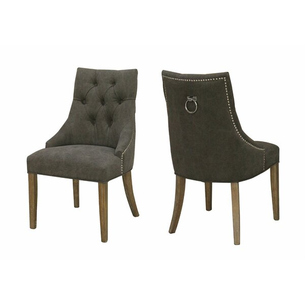 Luci Upholstered Dining Chair (Set of 2) by Meubles House Meubles House