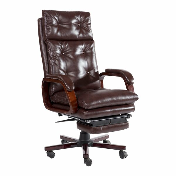 Aphrodite High Back Reclining Executive Chair by Alcott Hill