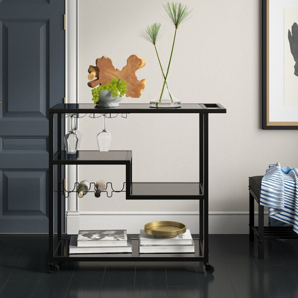 Kangas Bar Cart by Mercury Row