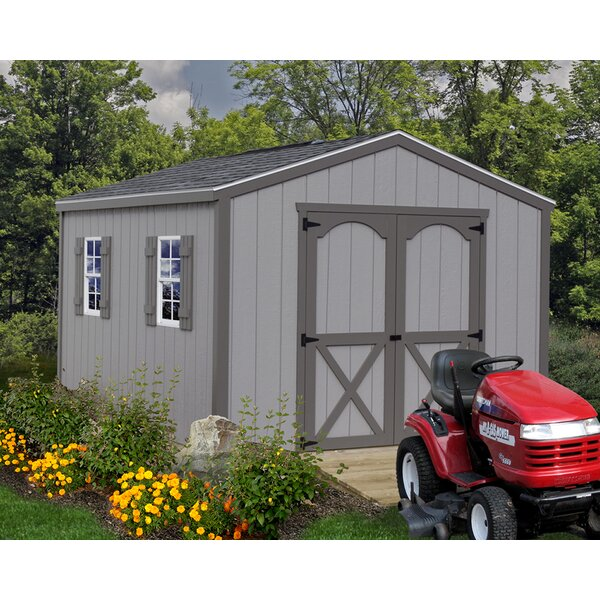 Elm Solid Wood Storage Shed by Best Barns