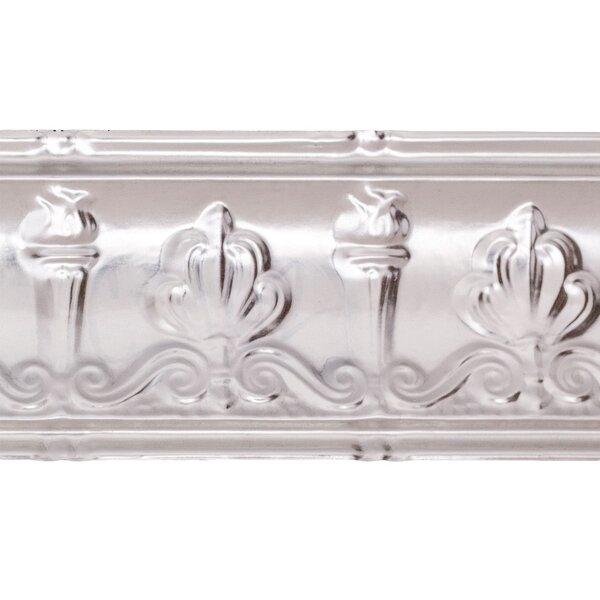 Superior 63/8 H x 48 W x 0.75 D Crown Molding (Set of 5) by Great Lakes Tin
