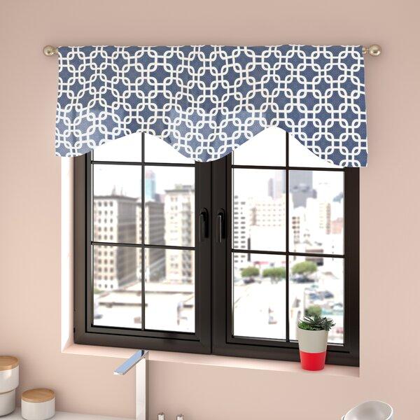 Burford Interlocking Cornice 50 Curtain Valance by Zipcode Design