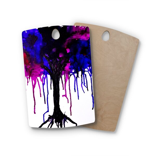 Claire Day Birchwood Weeping Willow Cutting Board by East Urban Home