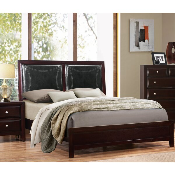 Barfield Upholstered Standard Bed by Charlton Home