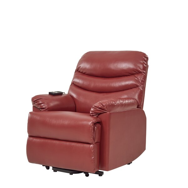 Mahn Power Wall hugger Recliner by Red Barrel Stud