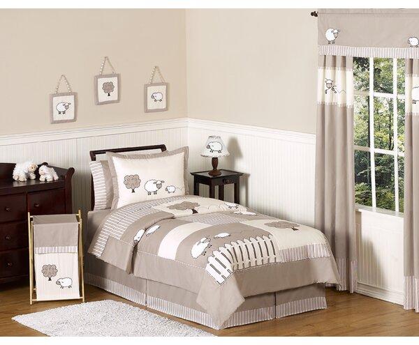 Little Lamb 4 Piece Twin Comforter Set by Sweet Jojo Designs