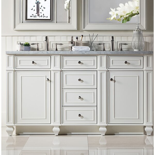 Lambrecht 60 Double Bathroom Vanity Set by Alcott Hill