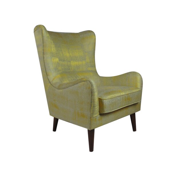 Rioux Occasional Wingback Chair by Brayden Studio