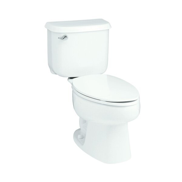 Windham 14 Rough-In 1.28 GPF Elongated 2 Piece Toilet by Sterling by Kohler