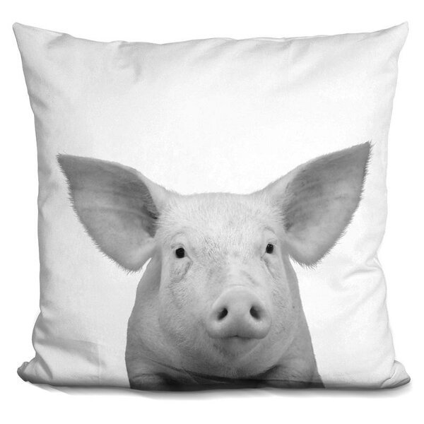 Kells Pig Throw Pillow by Wrought Studio