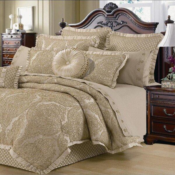 Walbridge Lux Jacquard Comforter Set