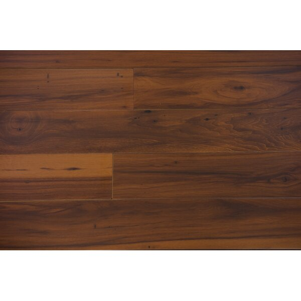 Zurich 4.87 x 47.25 x 12mm Hickory Laminate Flooring in Anise by Branton Flooring Collection