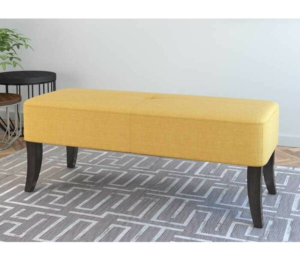 Adelia Upholstered Bench by Wade Logan