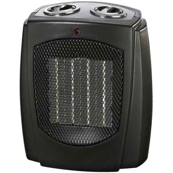 Ceramic 750/1,500 Watt Portable Electric Heater by Pro Fusion Heat