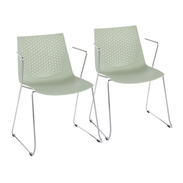 Modern Lesli Dining Chair (Set Of 2) By Wrought Studio Best