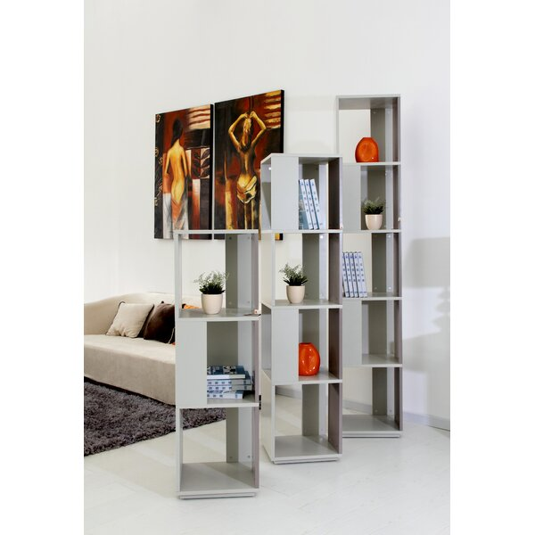 Elevate Geometric Bookcase by Brayden Studio