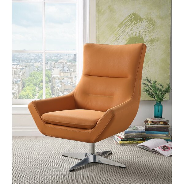 Boerger Swivel Armchair By Ivy Bronx Coupon