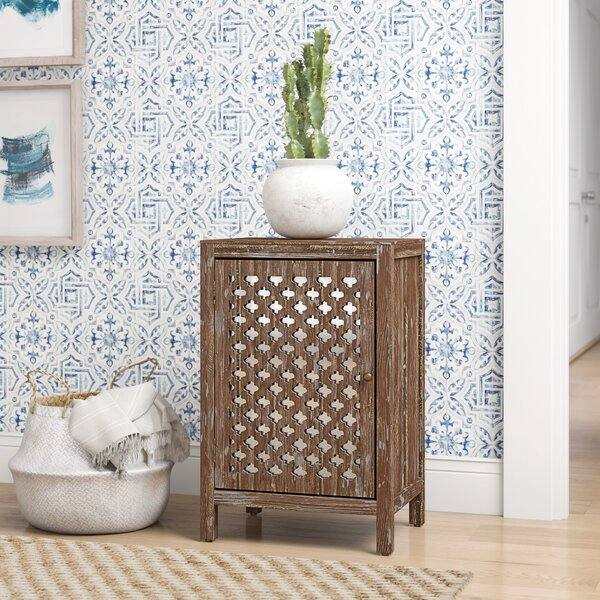 Jeff End Table With Storage By Mistana