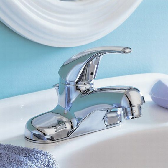 Colony Soft Centerset Bathroom Faucet with Drain Assembly by American Standard