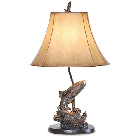 Emery Fish 25 Table Lamp by Millwood Pines