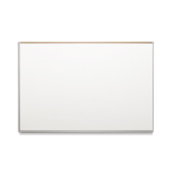 BTS Trim Maprail Blade Tray Wall Mounted Magnetic Whiteboard by Platinum Visual Systems