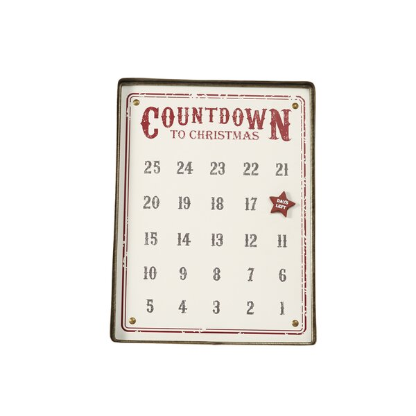Magnetic Tin Advent Calendar by Mud Pie™