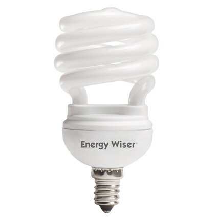 13W Compact Fluorescent Light Bulb (Set of 8) by Bulbrite Industries