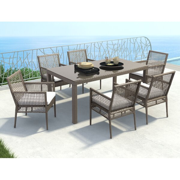 Baca 7 Piece Dining Set by Brayden Studio