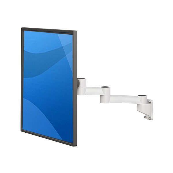 Best Mounting TV And Monitor Arm Height Adjustable Universal Wall Mount |  Wayfair