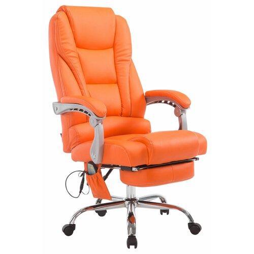 Chefsessel Natalya Zipcode Design Farbe (Polster): Orange   Büro > Bürostühle und Sessel  > Chefsessel   Zipcode Design