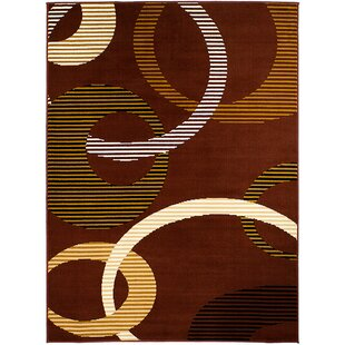 Top Reviews Dark Brown Area Rug By AllStar Rugs